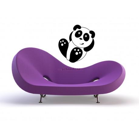Nálepky na stenu - Odpočívajúca panda
