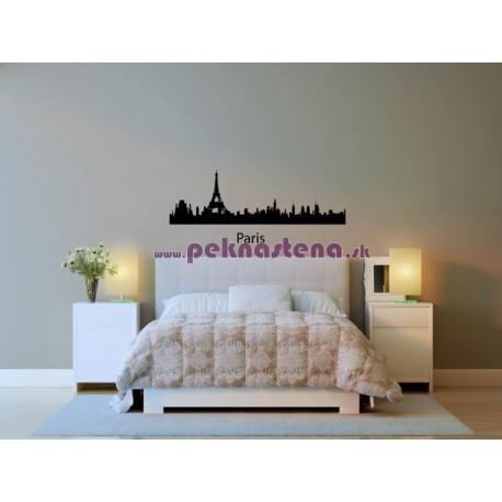 Nálepka na stenu - Paríž