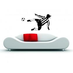 Futbalista s loptou