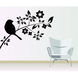 Vták na kvete 2