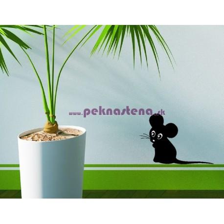 Nálepka na stenu - Myška