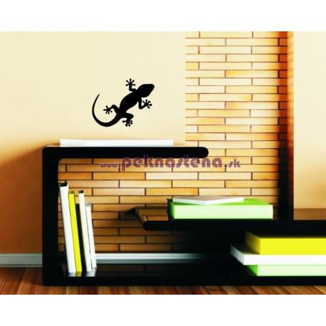 Nálepka na stenu - Jašterička