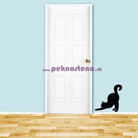 Nálepka na stenu - Mačka