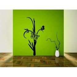 Bambus s motýľom 2