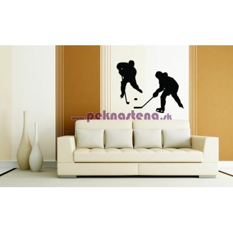 Nálepka na stenu - Hokejisti