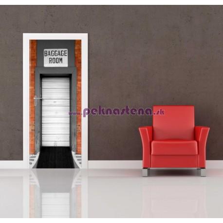 Nálepka na dvere - Úschovňa batožín