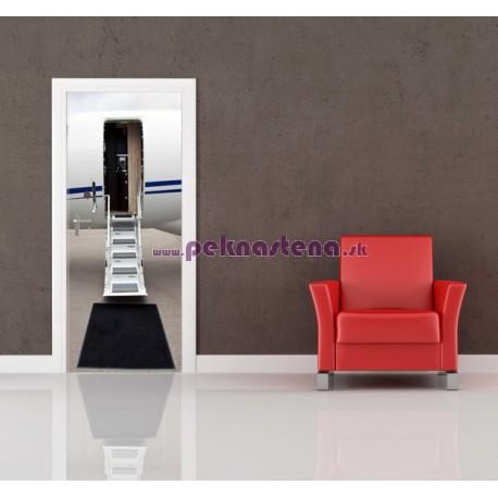 Nálepka na dvere - Dvere do lietadla