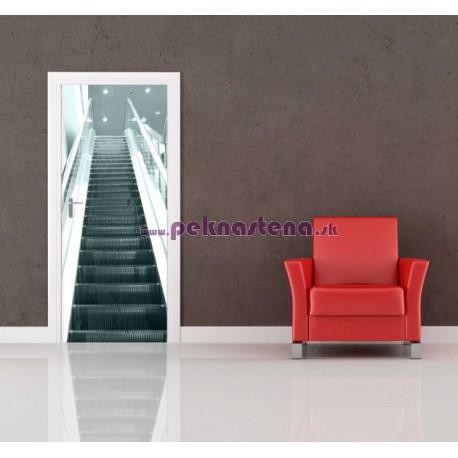 Nálepka na dvere - Eskalátor