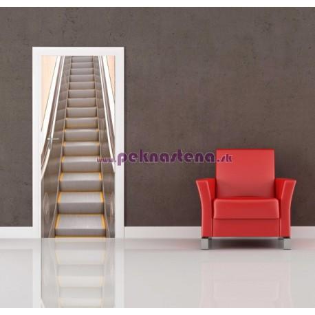 Nálepka na dvere - Eskalátor 2