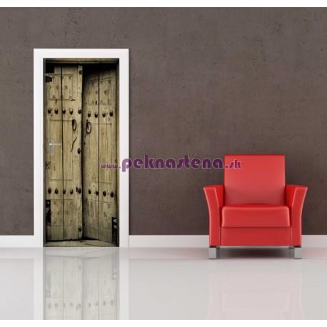 Nálepka na dvere - Staré dvere