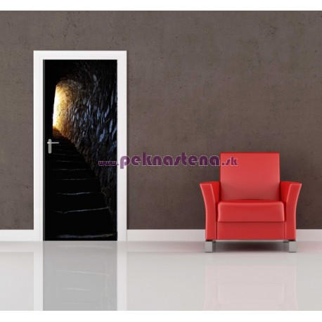 Nálepka na dvere - Tajná pivnica