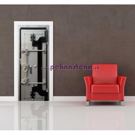 Nálepka na dvere - Trezor