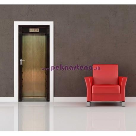 Nálepka na dvere - Výťah