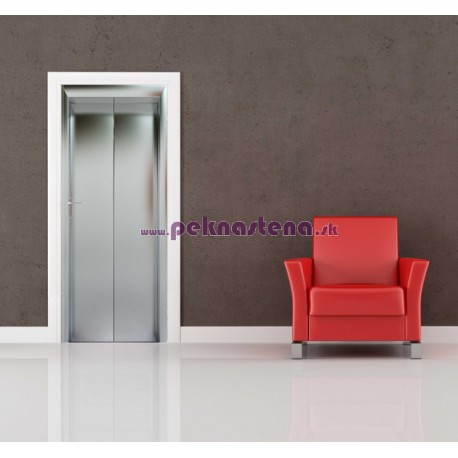 Nálepka na dvere - Zatvorený výťah