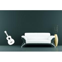 Nálepka na stenu - Gitara