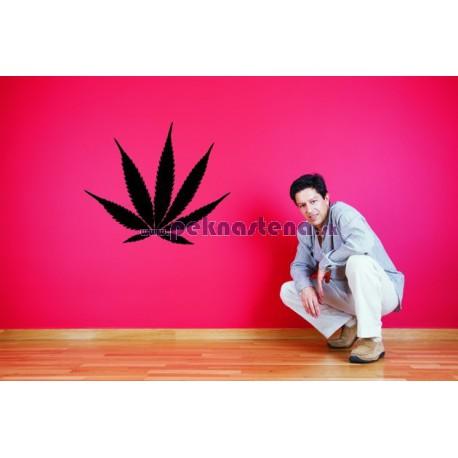 Nálepky na stenu - Marihuana
