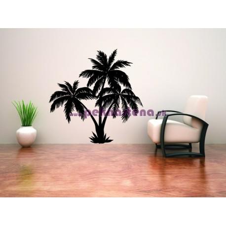 Nálepky na stenu - Palmový raj