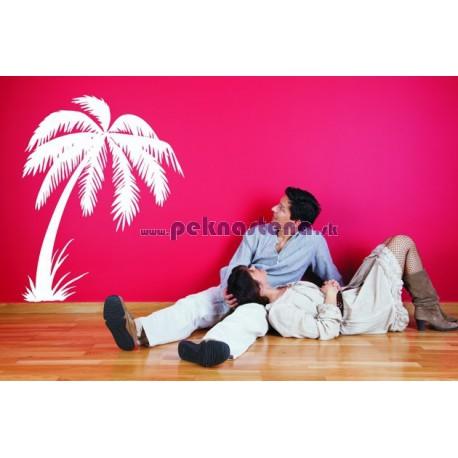 Nálepky na stenu - Tropická palma