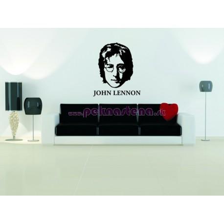 Nálepka na stenu - John Lennon