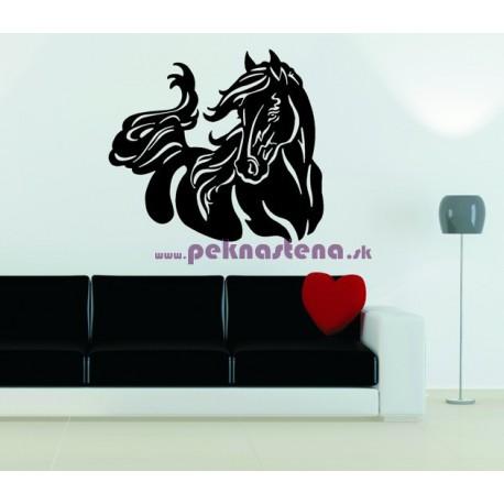 Nálepky na stenu - Bežiaci kôň