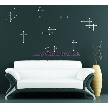Nálepka na stenu - Retro 2