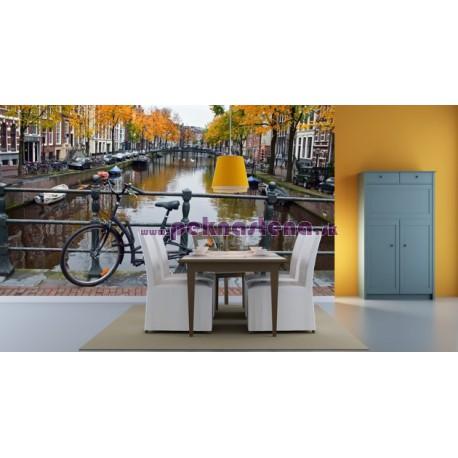 Fototapeta - Jeseň v Holandsku