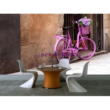 Fototapety - Ružový bycikel
