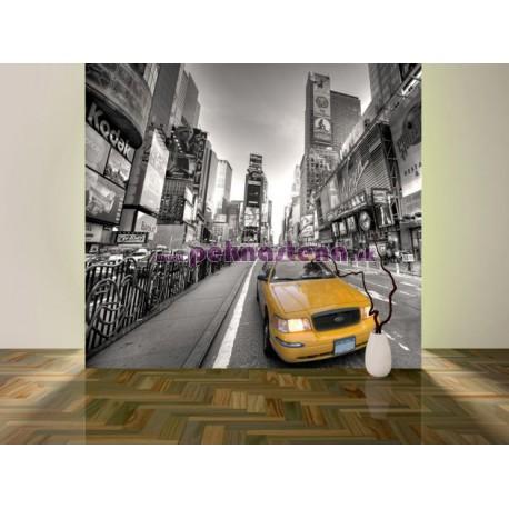 Fototapety - Žltý taxík