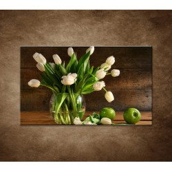 Obraz na stenu - Tulipány vo váze - zátišie