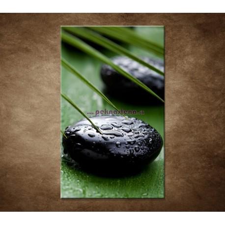 Obraz na stenu - Čierny kameň