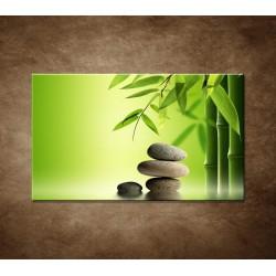 Obraz na stenu - Bambus a kamene