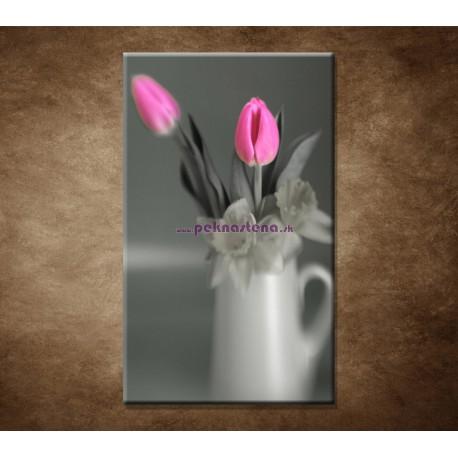 Obraz na stenu - Ružové tulipány