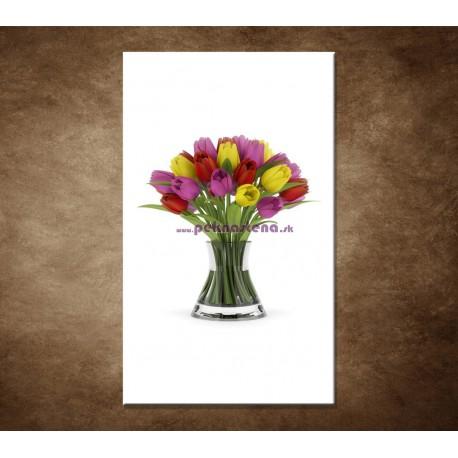 Obraz na stenu - Tulipány vo váze