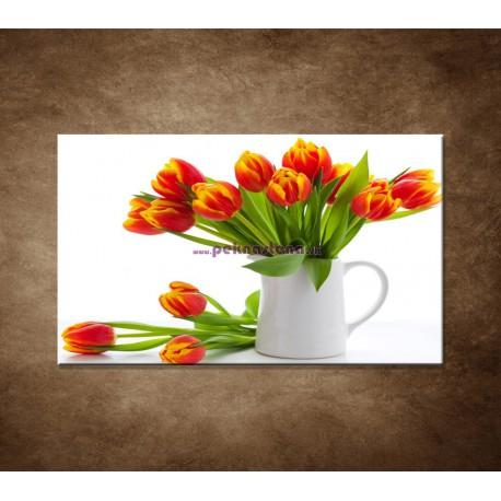Obraz na stenu - Červené tulipány