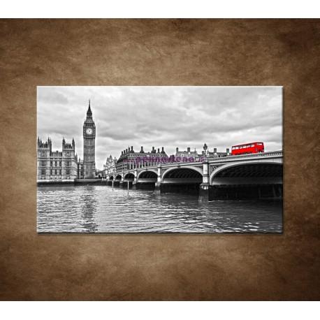Obraz na stenu - Červený autobus