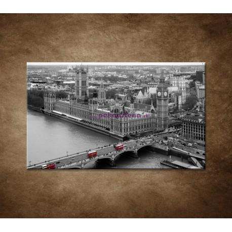 Obraz na stenu - Čiernobiely Londýn
