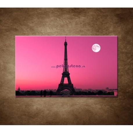 Obraz na stenu - Mesiac nad Eifelovkou