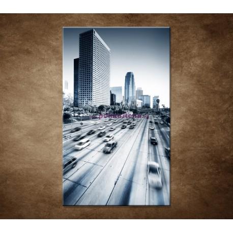 Obraz na stenu - Mesto a diaľnica