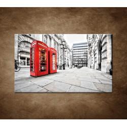 Červené telefónne búdky