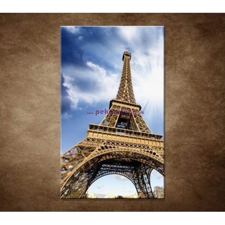 Obraz na stenu - Pohľad na Eifelovu vežu