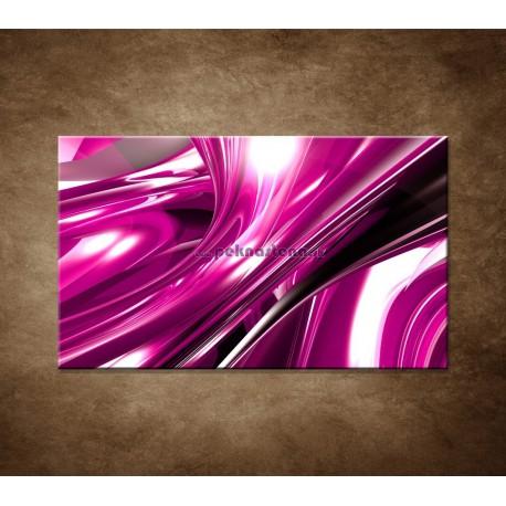 Obraz na stenu - 3D fialová abstrakcia