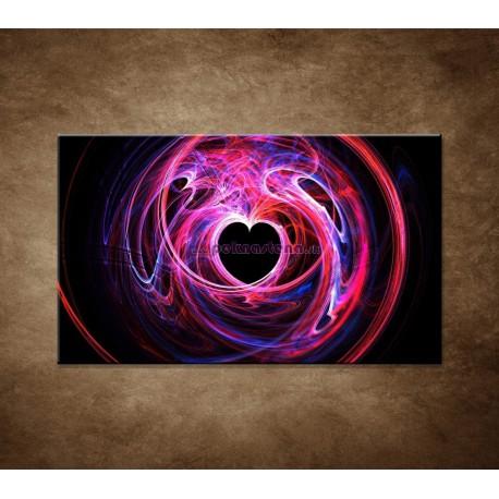 Obraz na stenu - 3D srdce