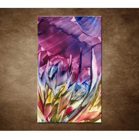 Obrazy na stenu - Abstraktný kvet