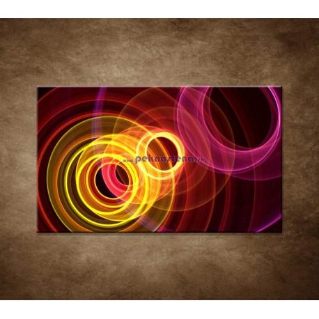 Obrazy na stenu - Farebné kruhy