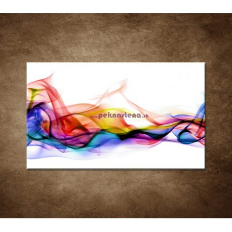 Obrazy na stenu - Farebný dym
