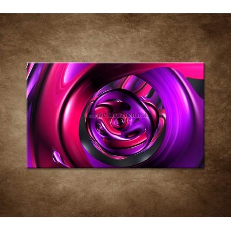 Obrazy na stenu - Fialová abstrakcia