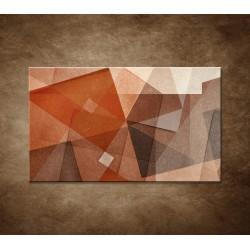 Obraz - Hnedá abstrakcia