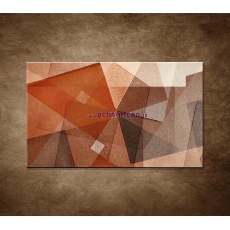 Obrazy na stenu - Hnedá abstrakcia
