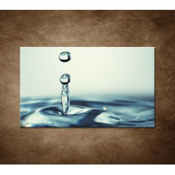 Obraz - Kvapka vody