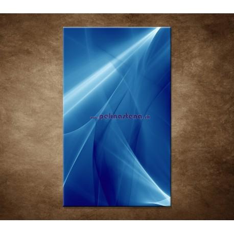 Obrazy na stenu - Modrá abstrakcia